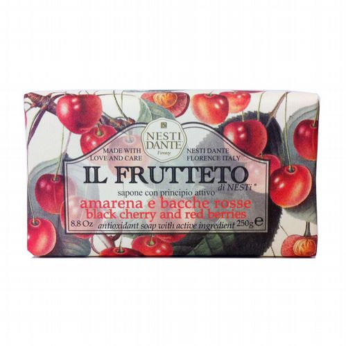 Nesti Dante Soap - Il Frutteto - Black Cherry and Red Berries